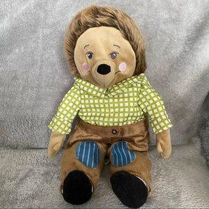 """IKEA 14"""" Drullig Hedgehog Plush Stuffed Animal"""